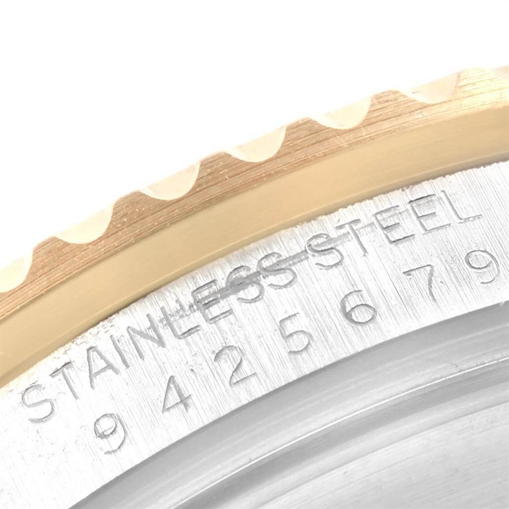 21650 Rolex Submariner 40mm Blue Dial Steel Yellow Gold Mens Watch 16613 SwissWatchExpo