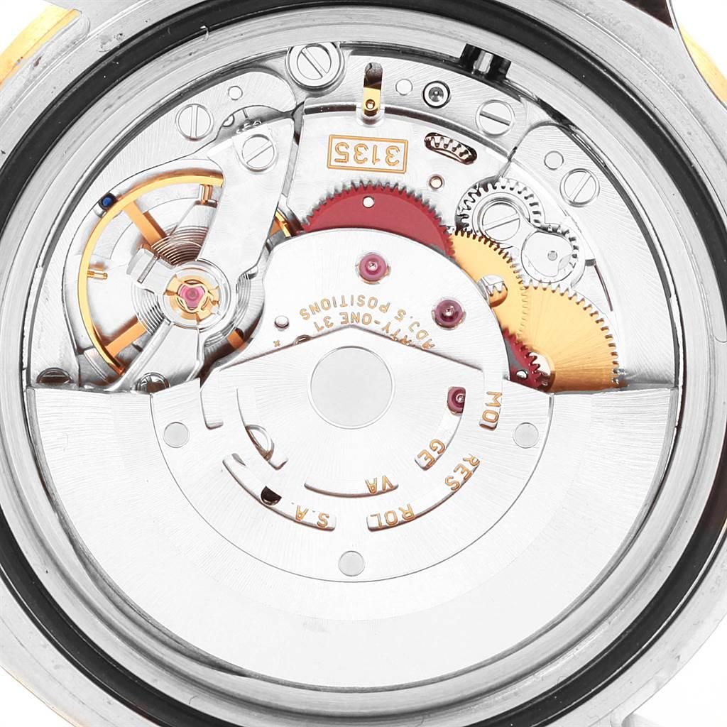 Rolex Submariner Steel Gold Diamond Sapphire Serti Watch 16613 Unworn SwissWatchExpo