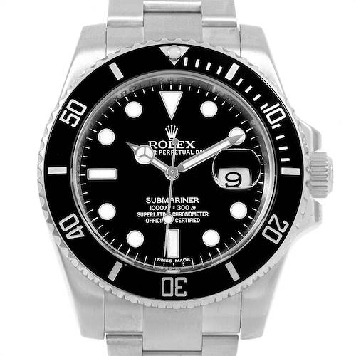 Photo of Rolex Submariner 40 Cerachrom Bezel Black Dial Watch 116610 Box PARTIAL PAYMENT LISTING ONLY