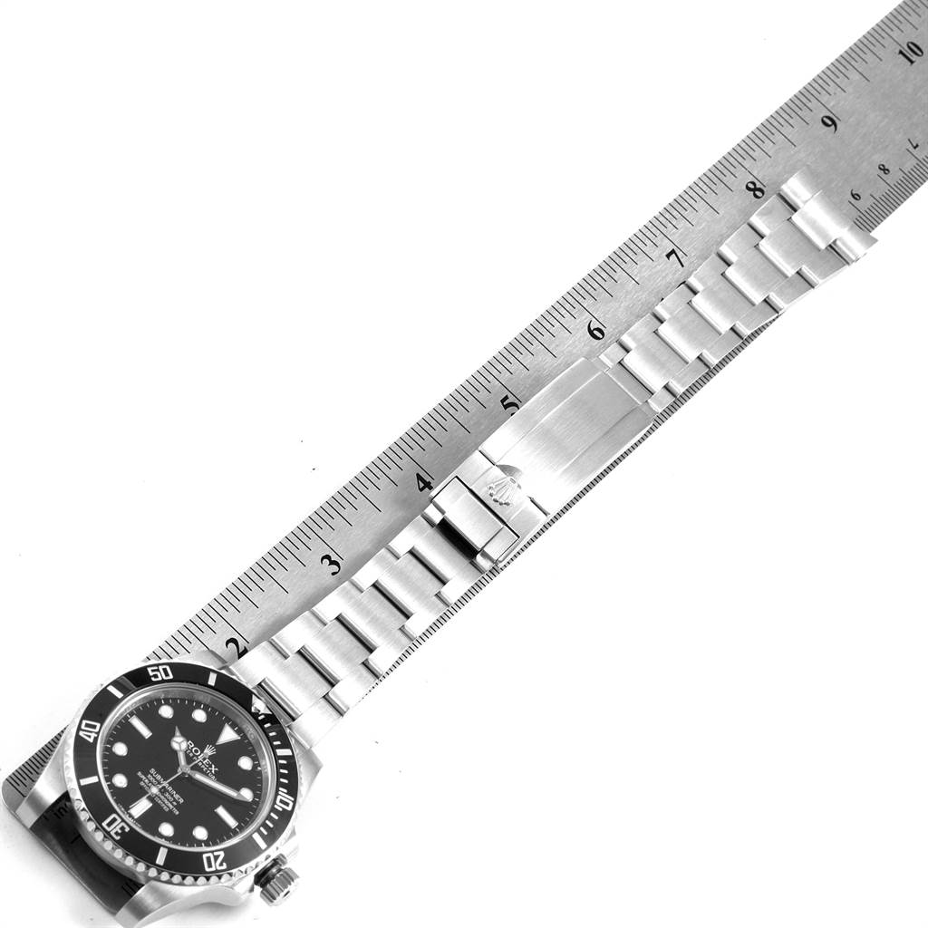 22300 Rolex Submariner Ceramic Bezel Oyster Bracelet Steel Mens Watch 114060 SwissWatchExpo