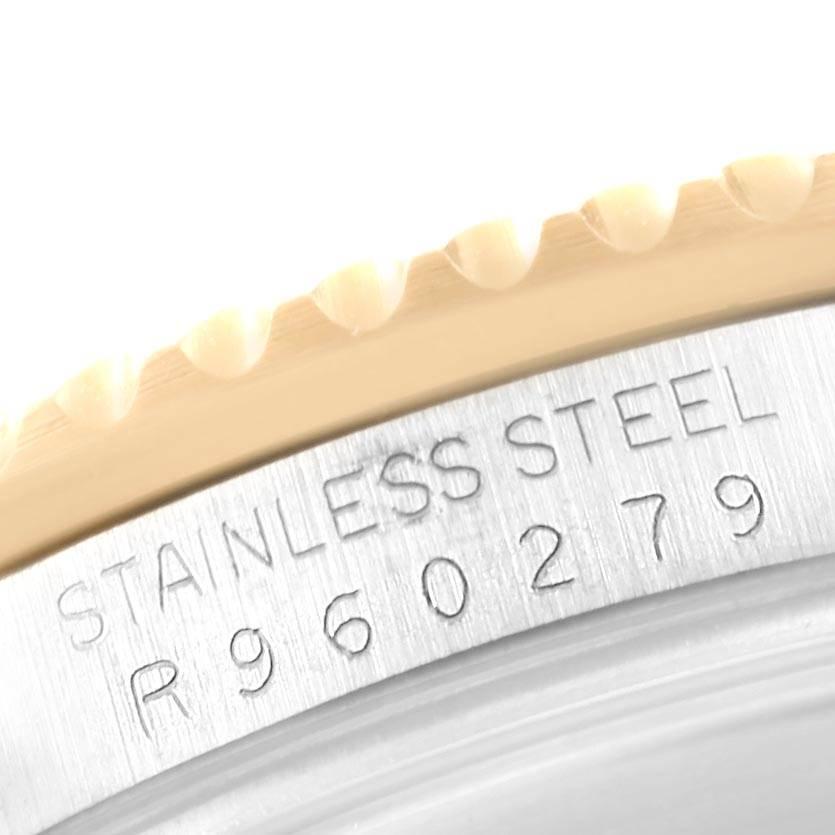 22351 Rolex Submariner Steel Yellow Gold Spider Dial Bezel Mens Watch 16613 SwissWatchExpo