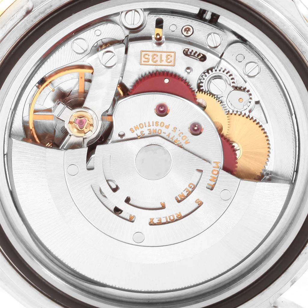 22434 Rolex Submariner Blue Dial Bezel Steel Yellow Gold Mens Watch 16613 SwissWatchExpo