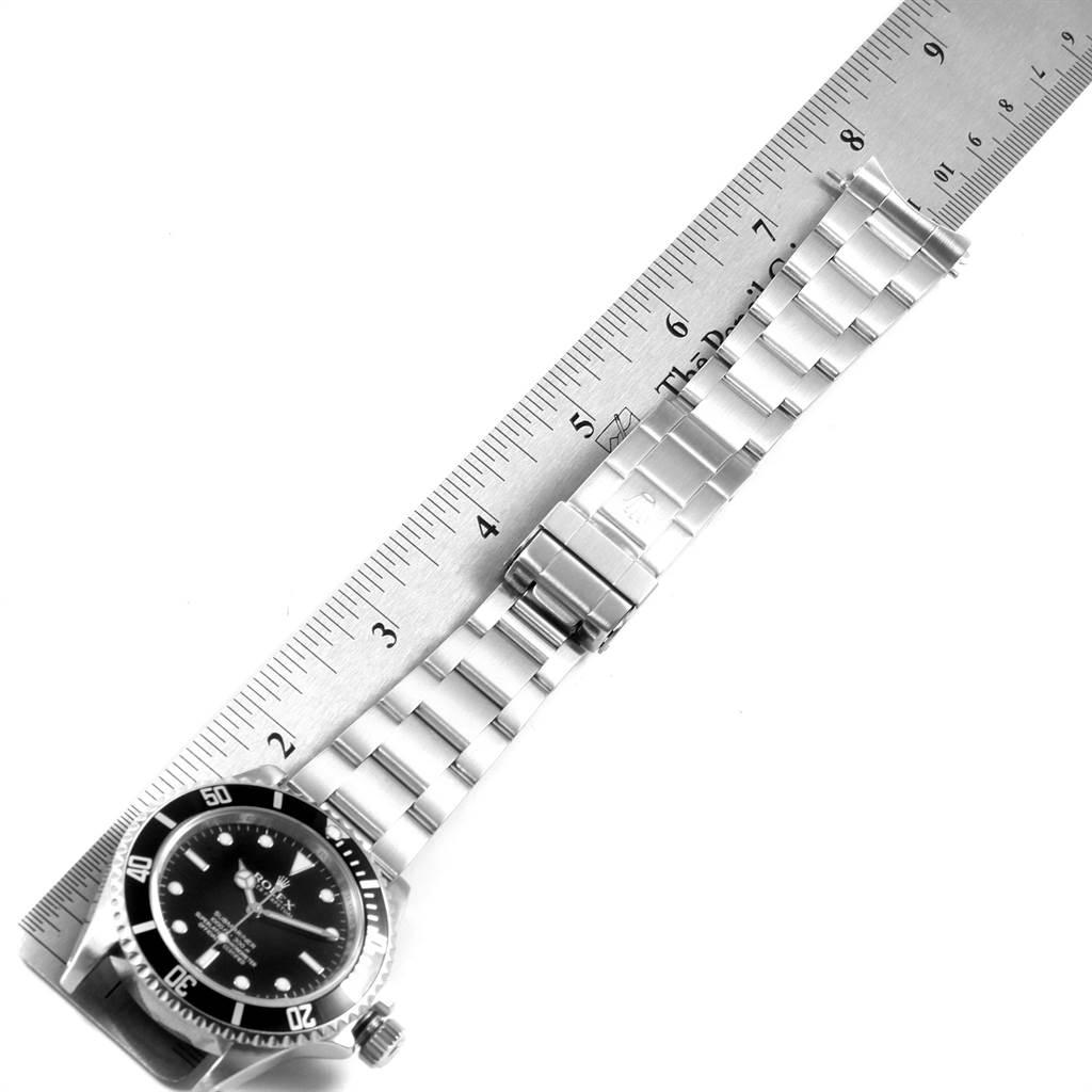 22461 Rolex Submariner No Date 4 Liner Automatic Steel Mens Watch 14060 SwissWatchExpo