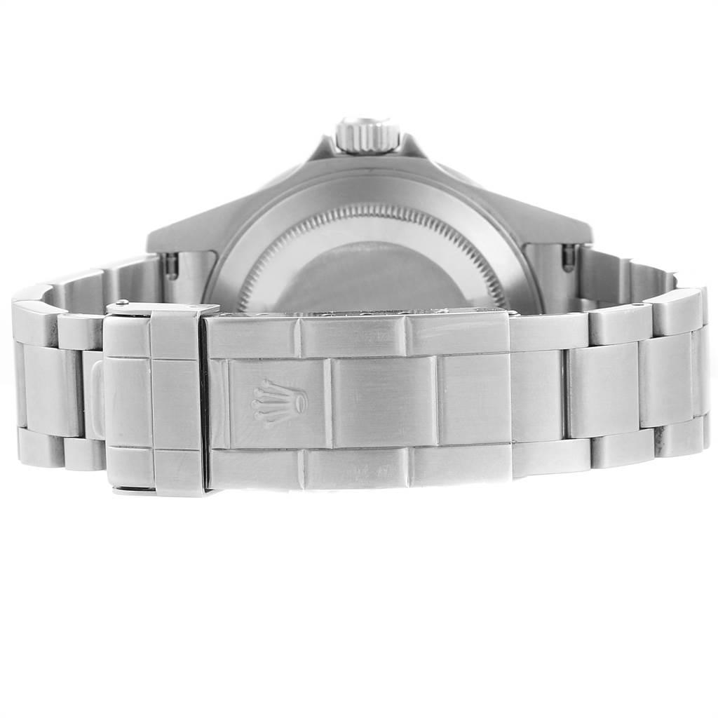 23363 Rolex Submariner Green 50th Anniversary Flat 4 Mens Watch 16610LV SwissWatchExpo