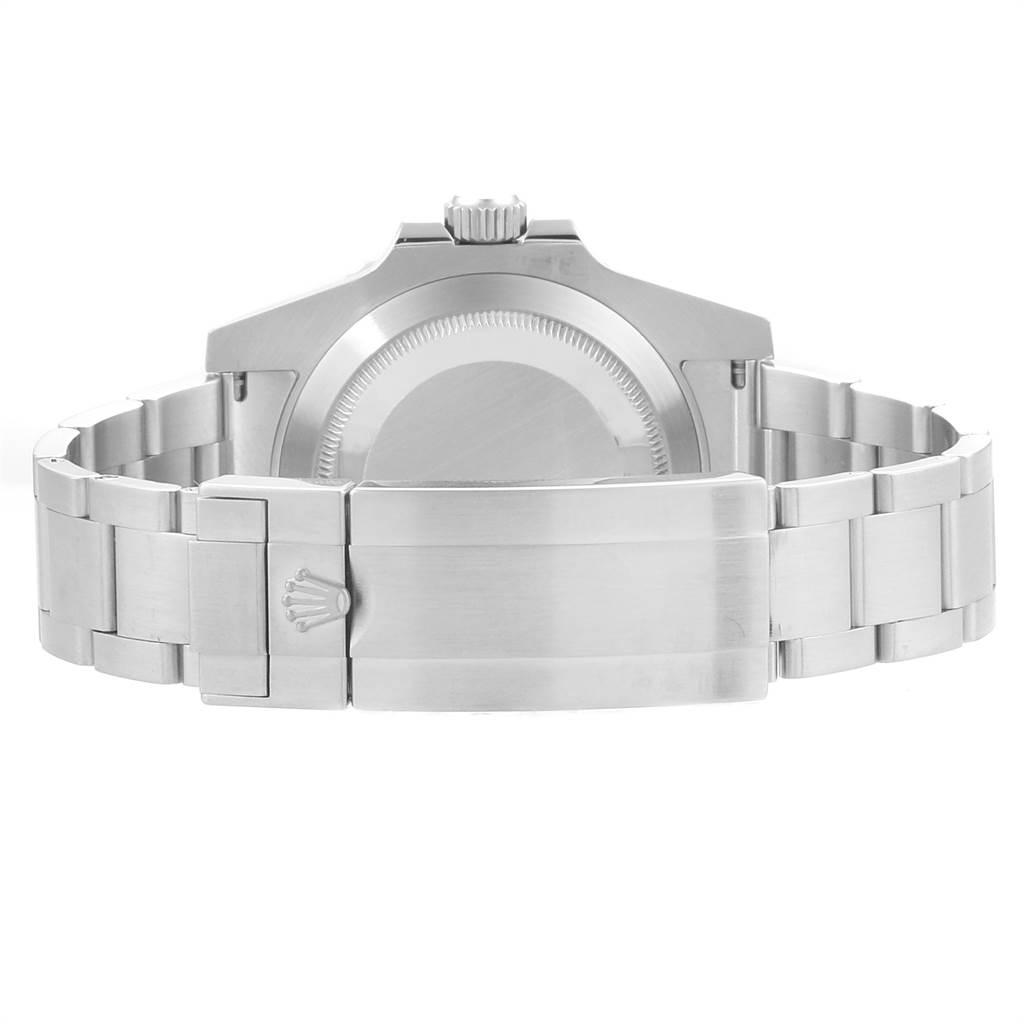 23710 Rolex Submariner Ceramic Bezel Oyster Bracelet Steel Mens Watch 114060 SwissWatchExpo