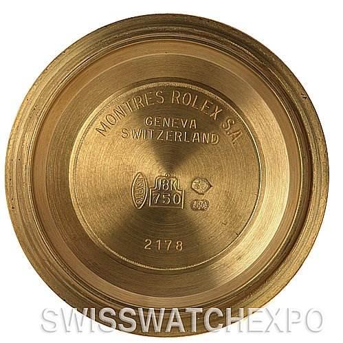 2537 Rolex Submariner 16618 18k Yellow Gold 2002  SwissWatchExpo