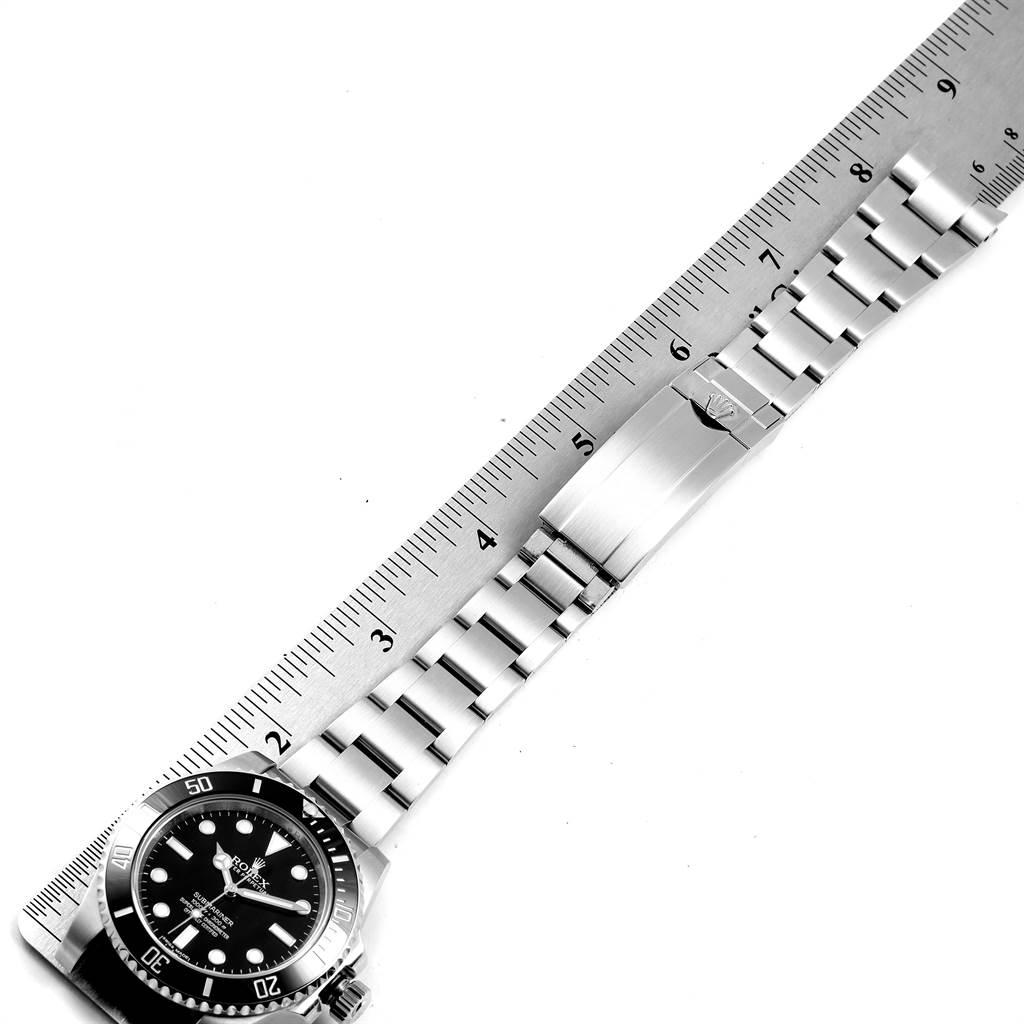 23895 Rolex Submariner Ceramic Bezel Oyster Bracelet Steel Mens Watch 114060 SwissWatchExpo