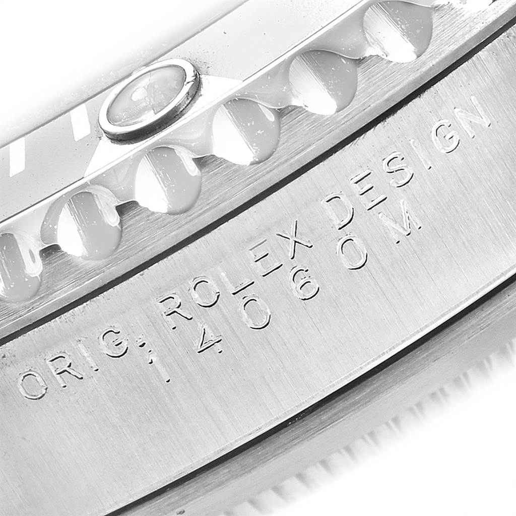 Rolex Submariner 40mm Non-Date 2 Liner Steel Mens Watch 14060 SwissWatchExpo