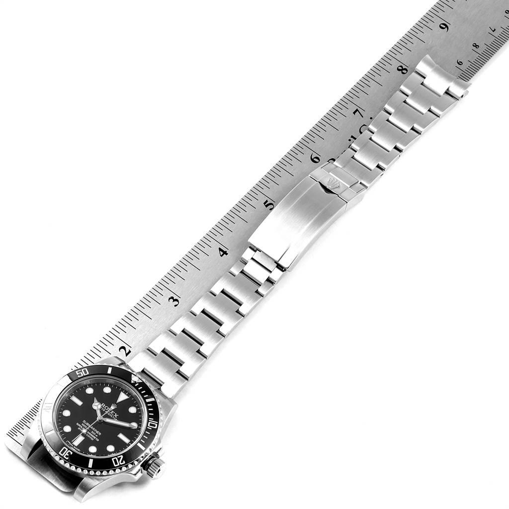 23930 Rolex Submariner 40mm Ceramic Bezel Steel Watch 114060 Box Card SwissWatchExpo