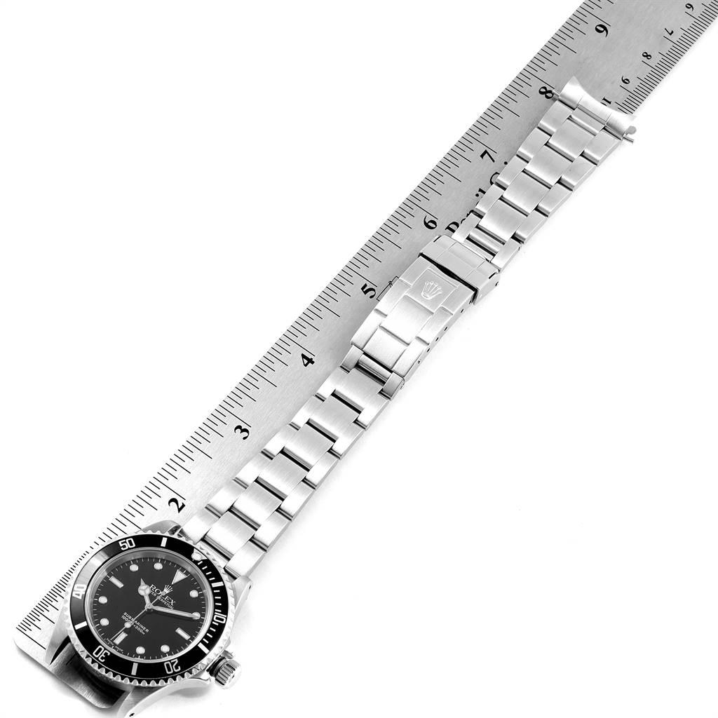 24091 Rolex Submariner 40mm Non-Date 2 Liner Steel Steel Mens Watch 14060 SwissWatchExpo