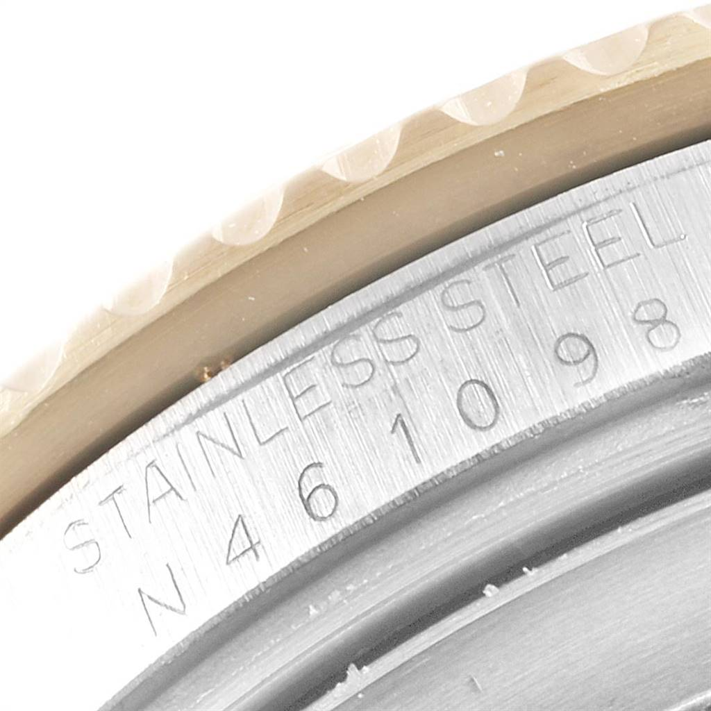 Rolex Submariner Date Steel 18K Yellow Gold Mens Watch 16613 SwissWatchExpo