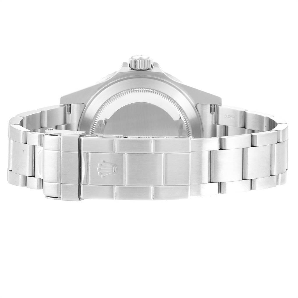 24178 Rolex Submariner Green 50th Anniversary Flat 4 Mens Watch 16610LV SwissWatchExpo