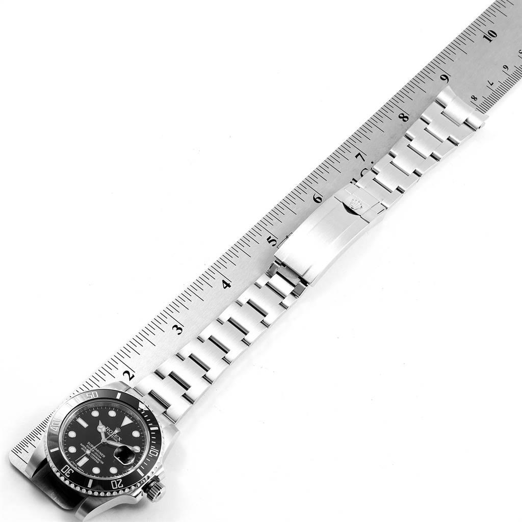 Rolex Submariner 40 Cerachrom Bezel Black Dial Watch 116610 Box Card SwissWatchExpo