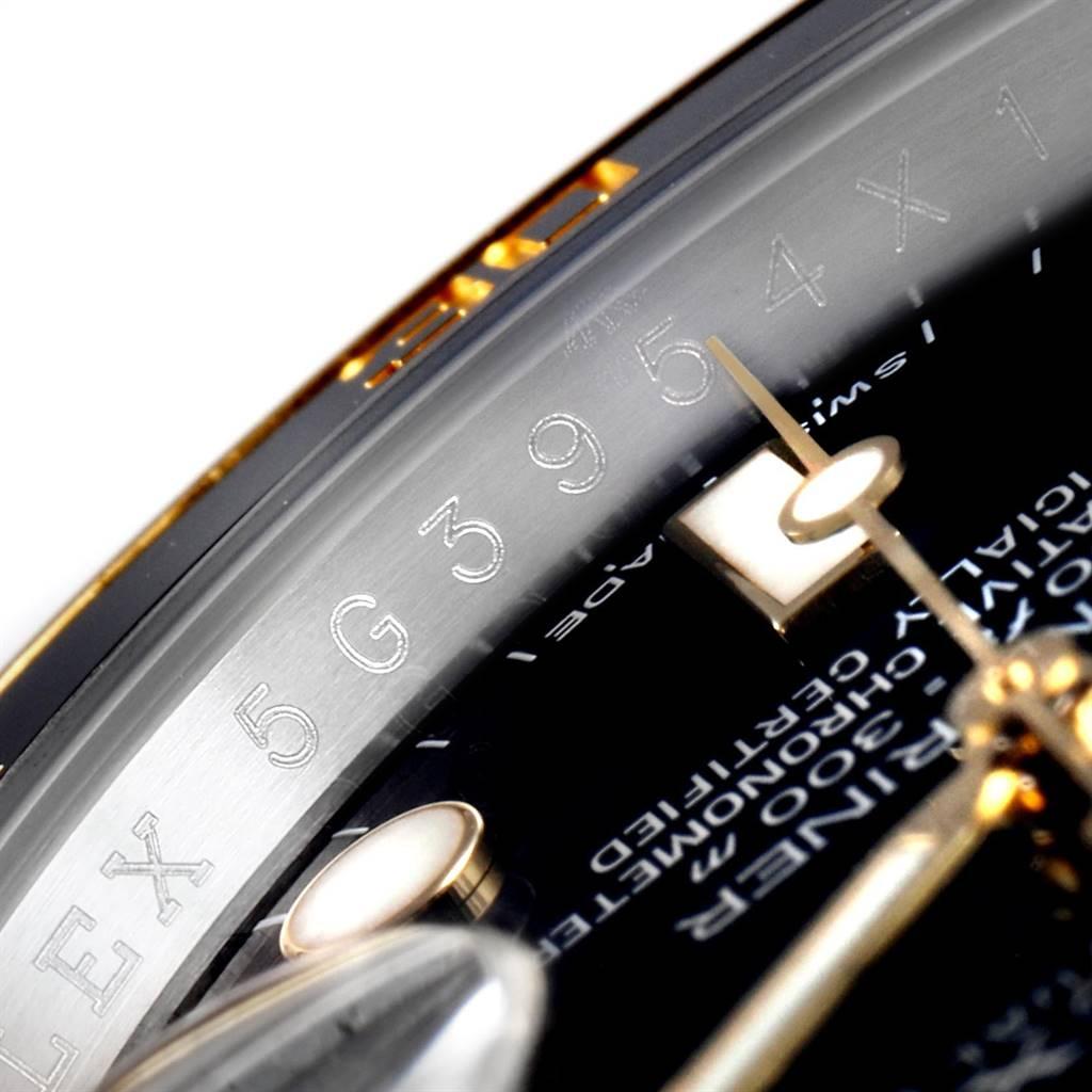 Rolex Submariner Steel Yellow Gold Black Dial Steel Mens Watch 116613 SwissWatchExpo