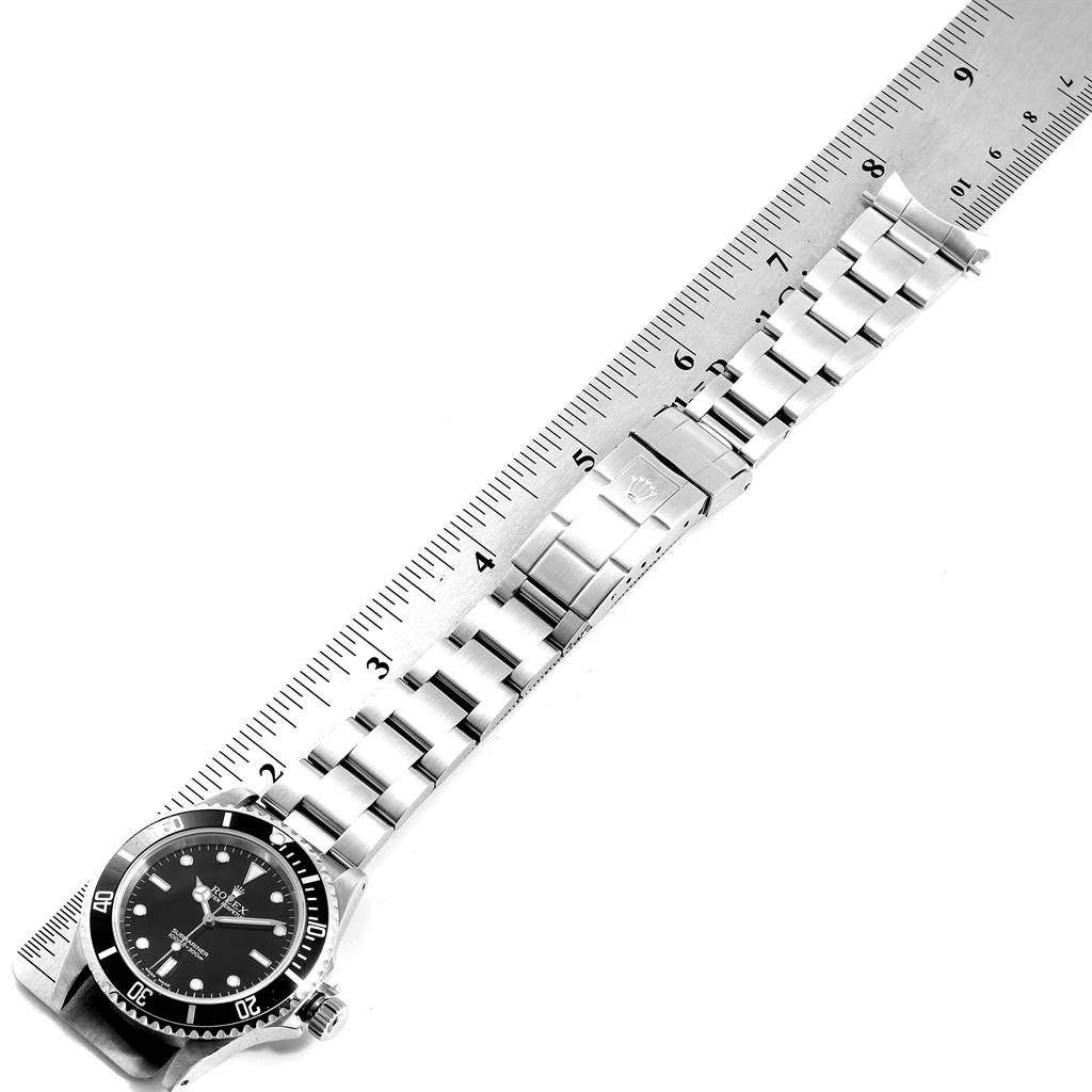 Rolex Submariner Non-Date 2 Liner Steel Mens Watch 14060 Box Papers SwissWatchExpo
