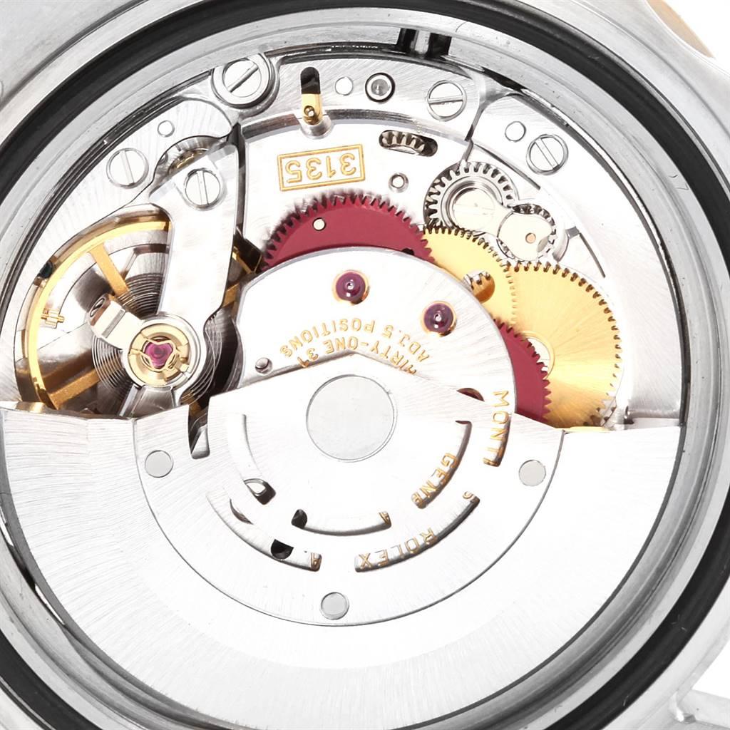 24822 Rolex Submariner Steel Gold Slate Diamond Sapphire Serti Mens Watch 16613 SwissWatchExpo