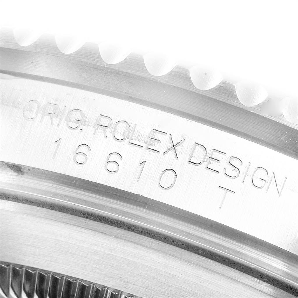 24960 Rolex Submariner 40mm Black Dial Steel Mens Watch 16610 Box SwissWatchExpo