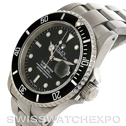 2757 ROLEX  SUBMARINER MENS SS WATCH 16610 YEAR 2000 - 2002 SwissWatchExpo