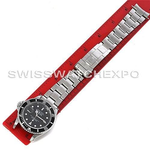2753 ROLEX  SUBMARINER WATCH 16610 YEAR 2002 w BOX PAPERS SwissWatchExpo
