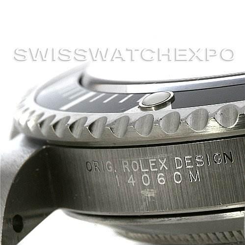 2776 ROLEX  SUBMARINER MENS SS NON-DATE WATCH 14060M yr 2005 SwissWatchExpo