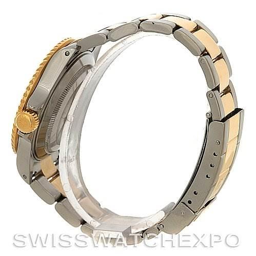 2815 Rolex  Submariner 16613 SS/Gold Diamond Sapphire 16613 SwissWatchExpo