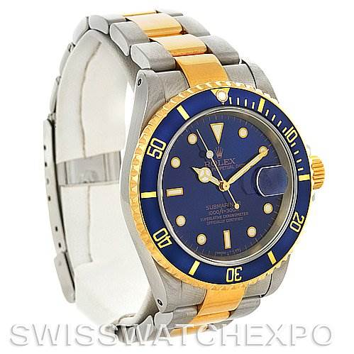 2956 Rolex Submariner 16613 Steel and Yellow Gold 16613 SwissWatchExpo