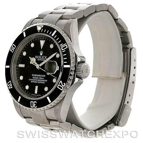 3062 Rolex Submariner Steel Watch 16610T Year 2006 - 2007 SwissWatchExpo