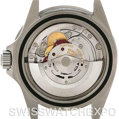 3077 Rolex Submariner Date Steel Watch 16610 Year 2004 SwissWatchExpo