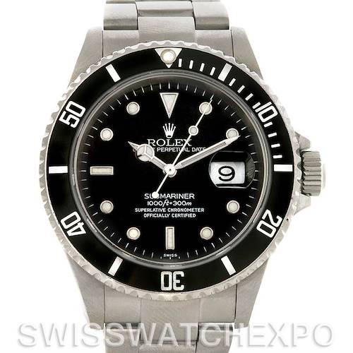 Photo of Rolex Submariner Date Steel Watch 16610 Year 2004