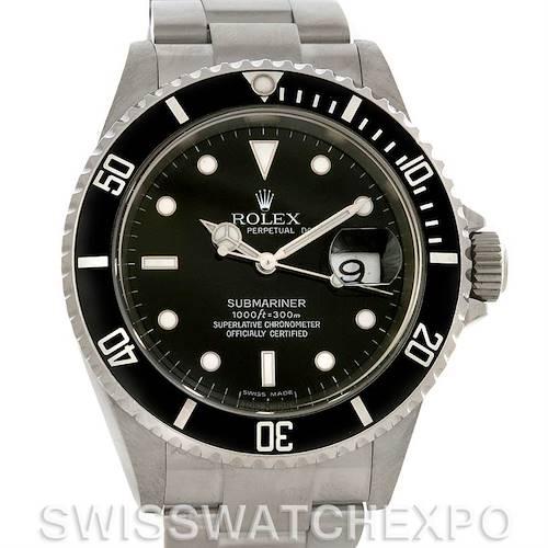 Photo of Rolex Submariner Date Steel Watch 16610 Year 2007