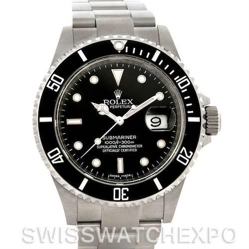 Photo of Rolex Submariner Date Steel Watch 16610 Year 2008