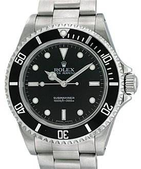 """Photo of Rolex Ss Non Date Submariner Watch 14060m """"p"""" Serial"""