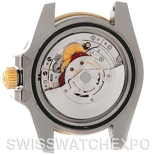 4615 Rolex Submariner Steel 18K Yellow Gold Blue Dial Watch 116613BLSO SwissWatchExpo