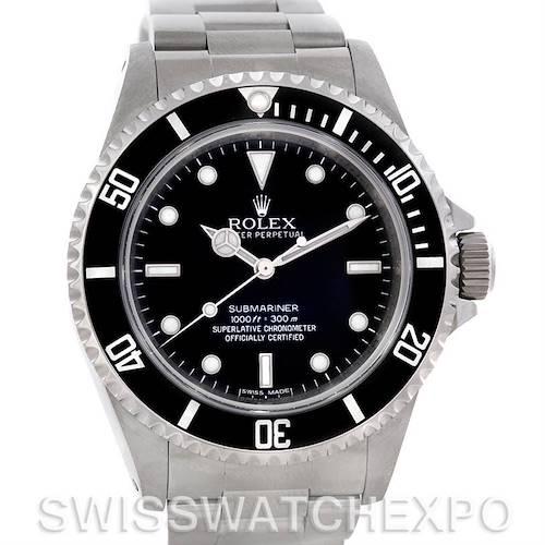 Photo of Rolex Submariner Mens Steel Non-Date Watch 14060