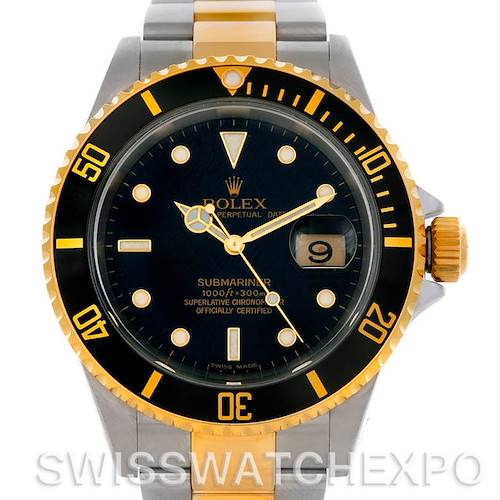 Photo of Rolex Submariner Steel and Yellow Gold 16613 Watch