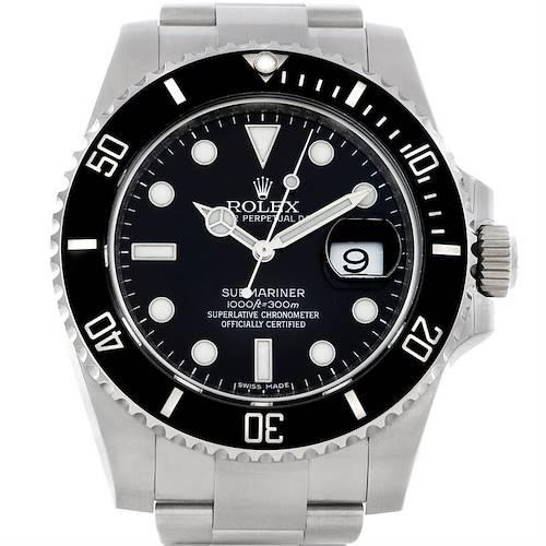 Photo of Rolex Submariner Mens Steel Date Watch 116610