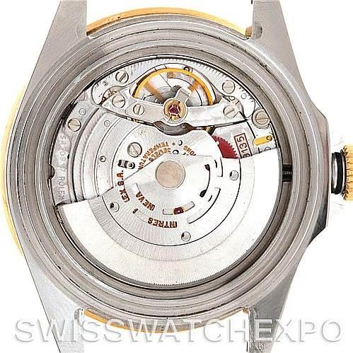 5938 Rolex Blue Submariner Steel 18K Yellow Gold Watch 16613 SwissWatchExpo