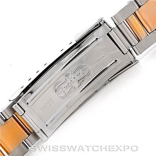 6658 Rolex Submariner Steel and Yellow Gold Watch 16613 SwissWatchExpo