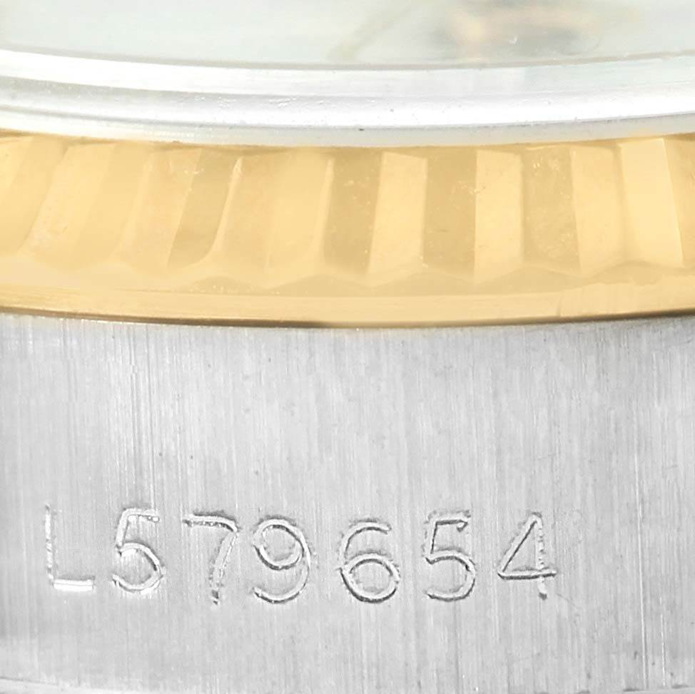 13302 Rolex Datejust Steel 18k Yellow Gold Automatic Ladies Watch 69173 SwissWatchExpo