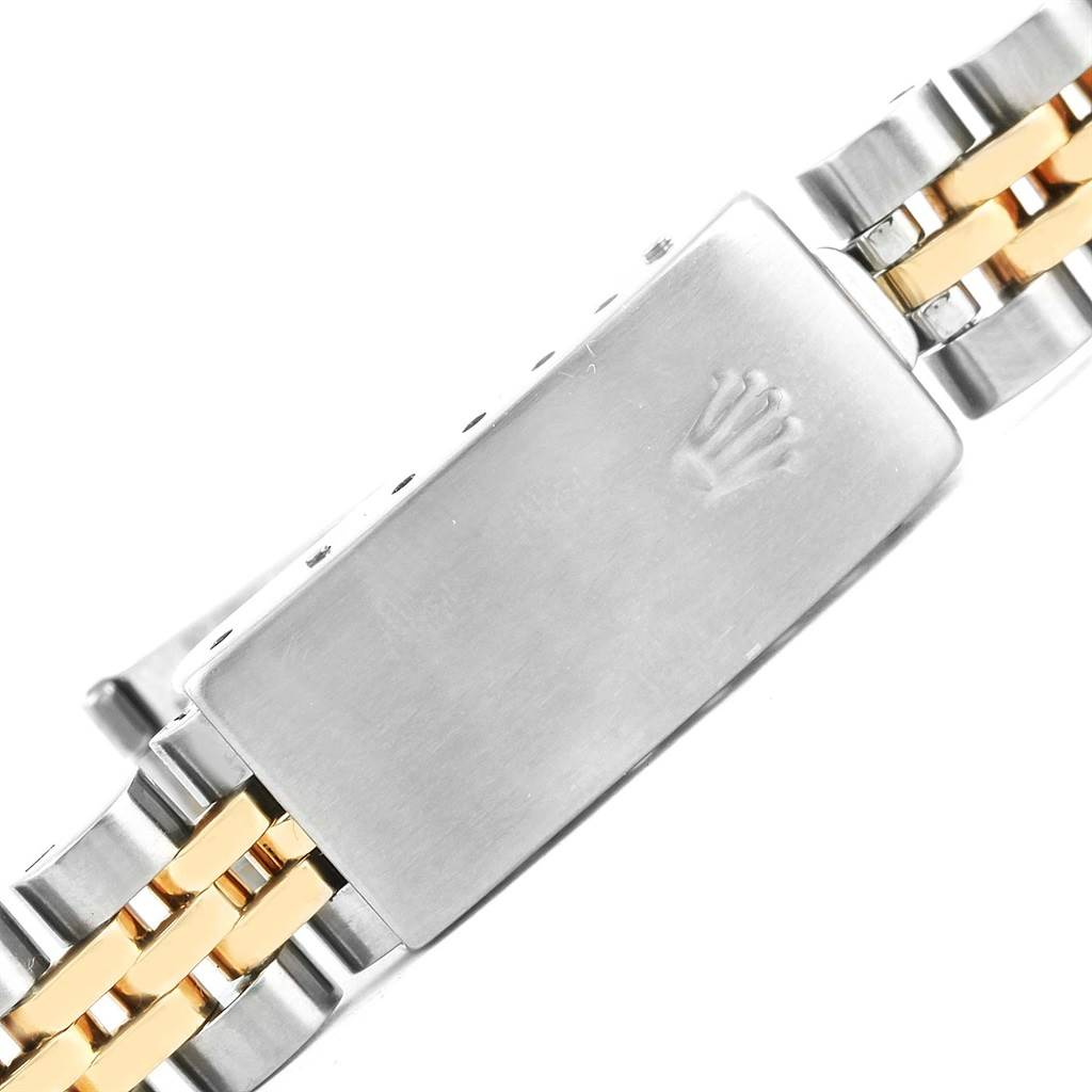 Rolex Datejust Steel Yellow Gold Jubilee Bracelet Ladies Watch 69173 SwissWatchExpo