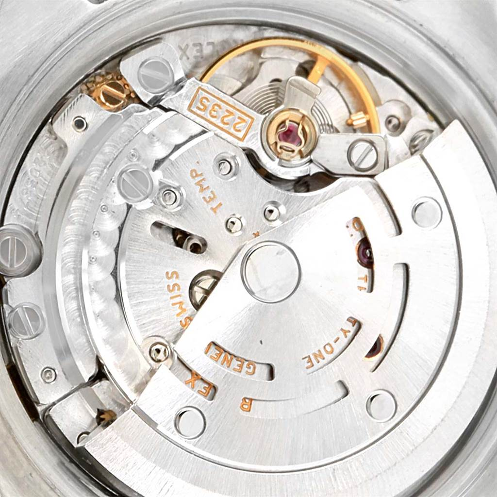 13763 Rolex Datejust 26 Steel Yellow Gold MOP Diamond Ladies Watch 179163 Box Papers SwissWatchExpo