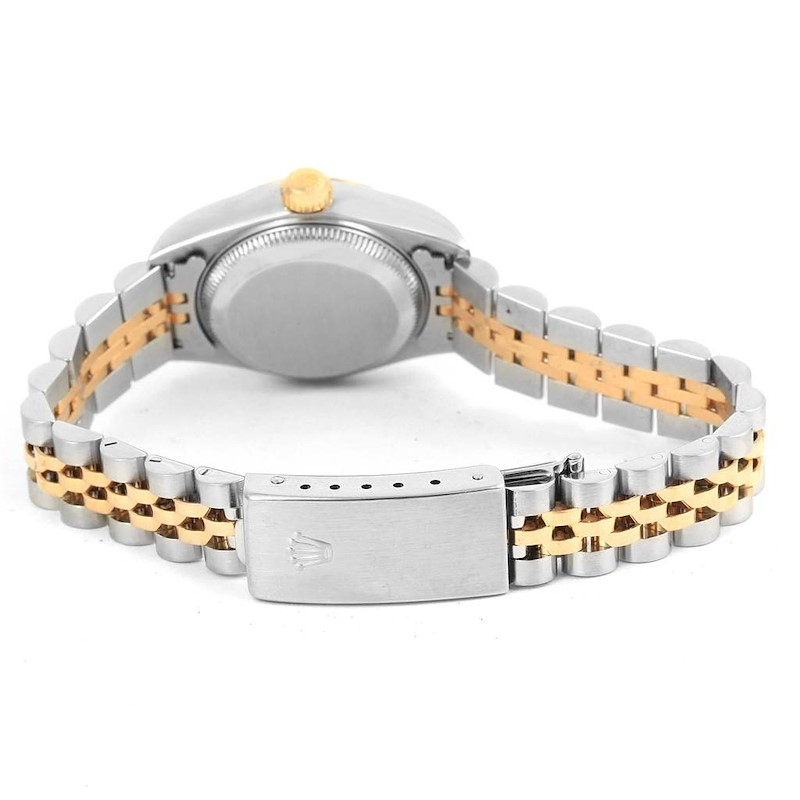 Rolex Datejust Steel Yellow Gold Ivory Jubilee Dial Ladies Watch 79173 SwissWatchExpo