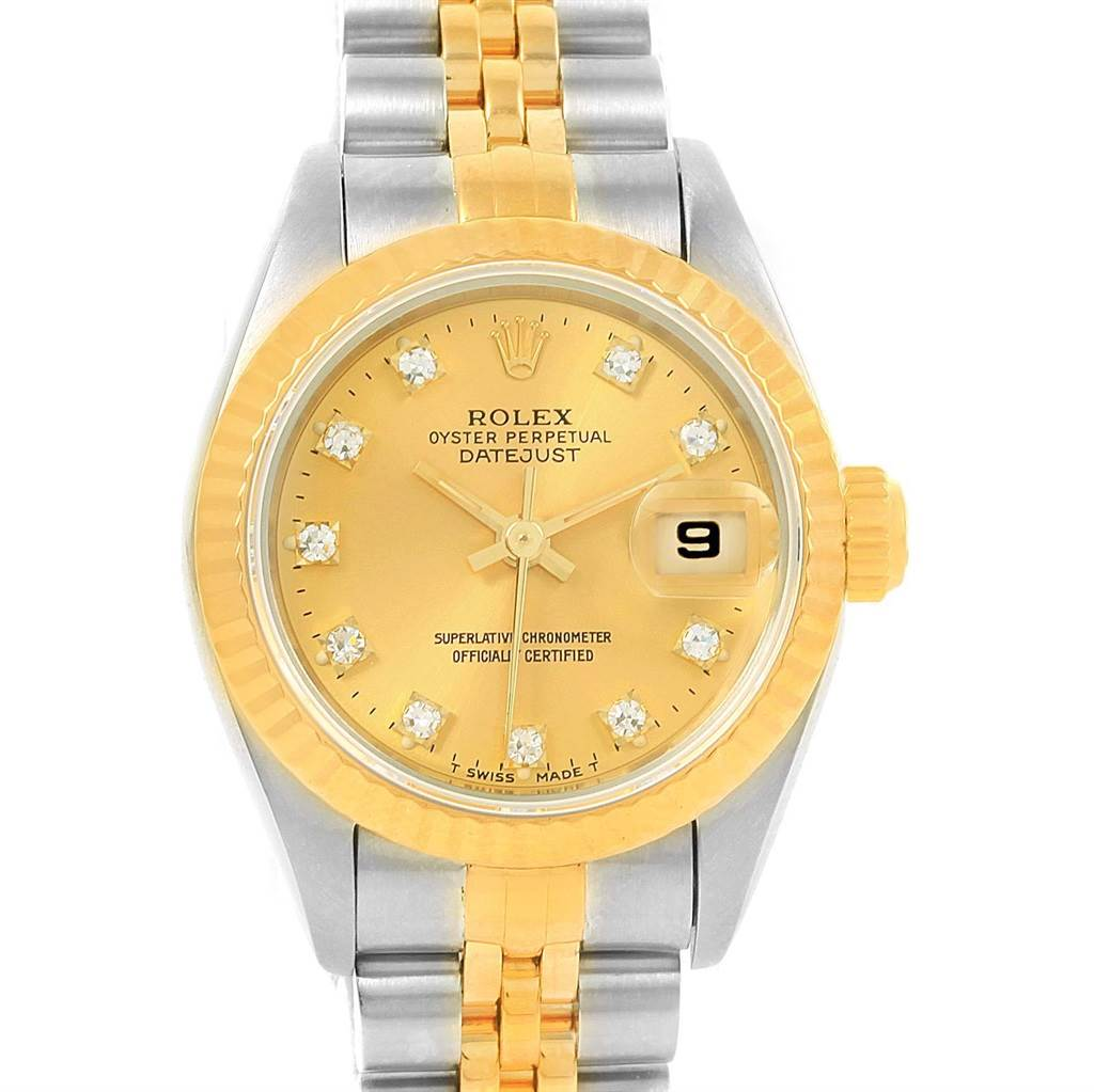 Rolex Datejust Gold And Steel