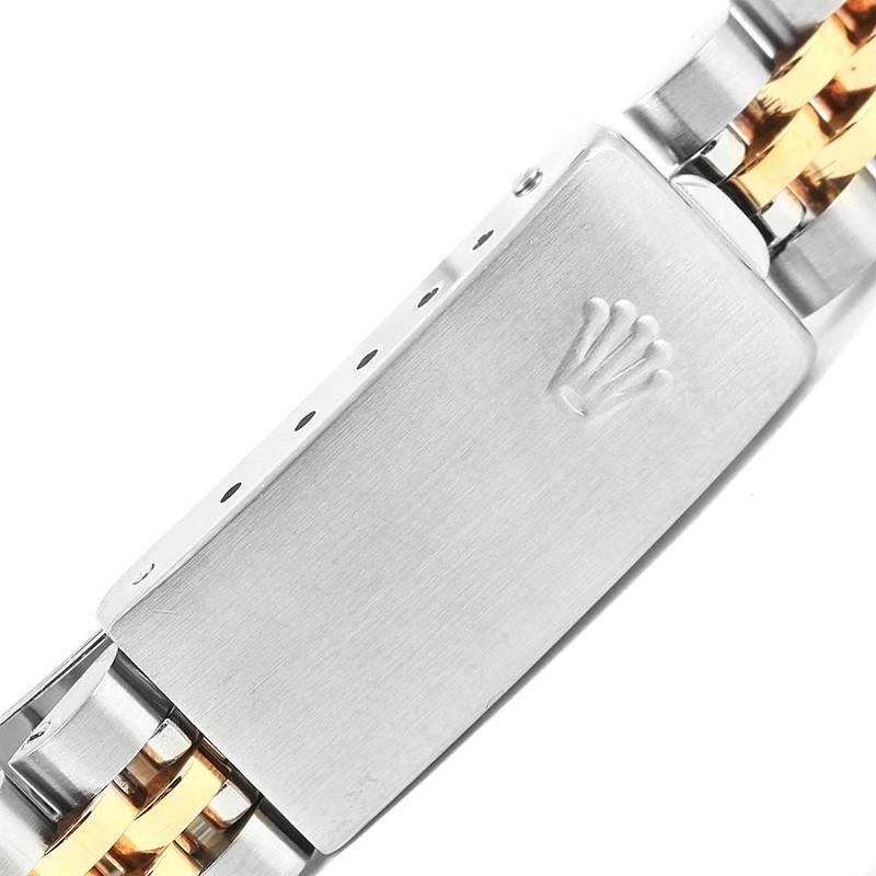 Rolex Datejust Steel Yellow Gold Fluted Bezel 26mm Womens Watch 69173 SwissWatchExpo