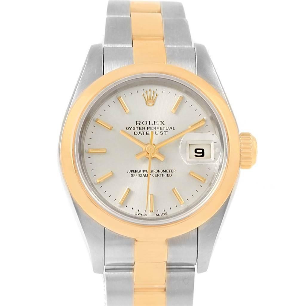 Rolex Datejust Steel Yellow Gold Ladies Watch 79163 Box Papers SwissWatchExpo