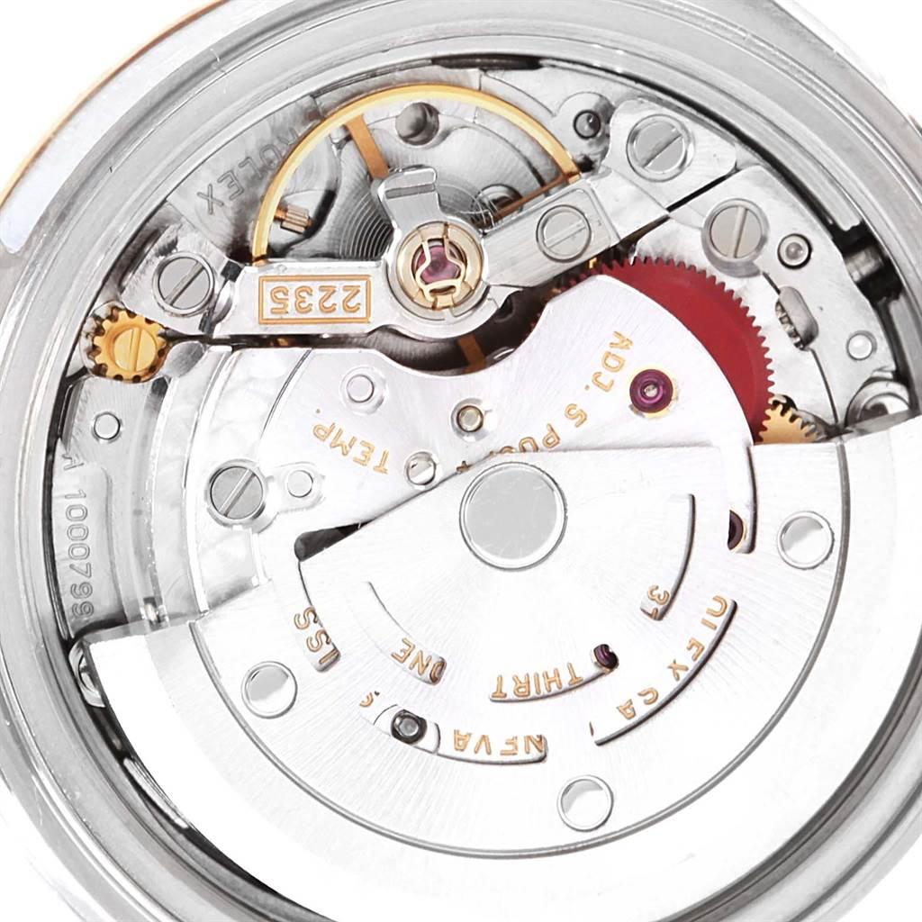 Rolex Datejust 26 Steel Yellow Gold White Dial Ladies Watch 79173 SwissWatchExpo