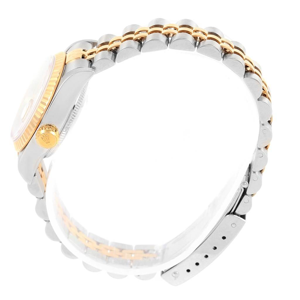 16438 Rolex Datejust 26 Steel Yellow Gold Jubilee Bracelet Ladies Watch 79173 SwissWatchExpo
