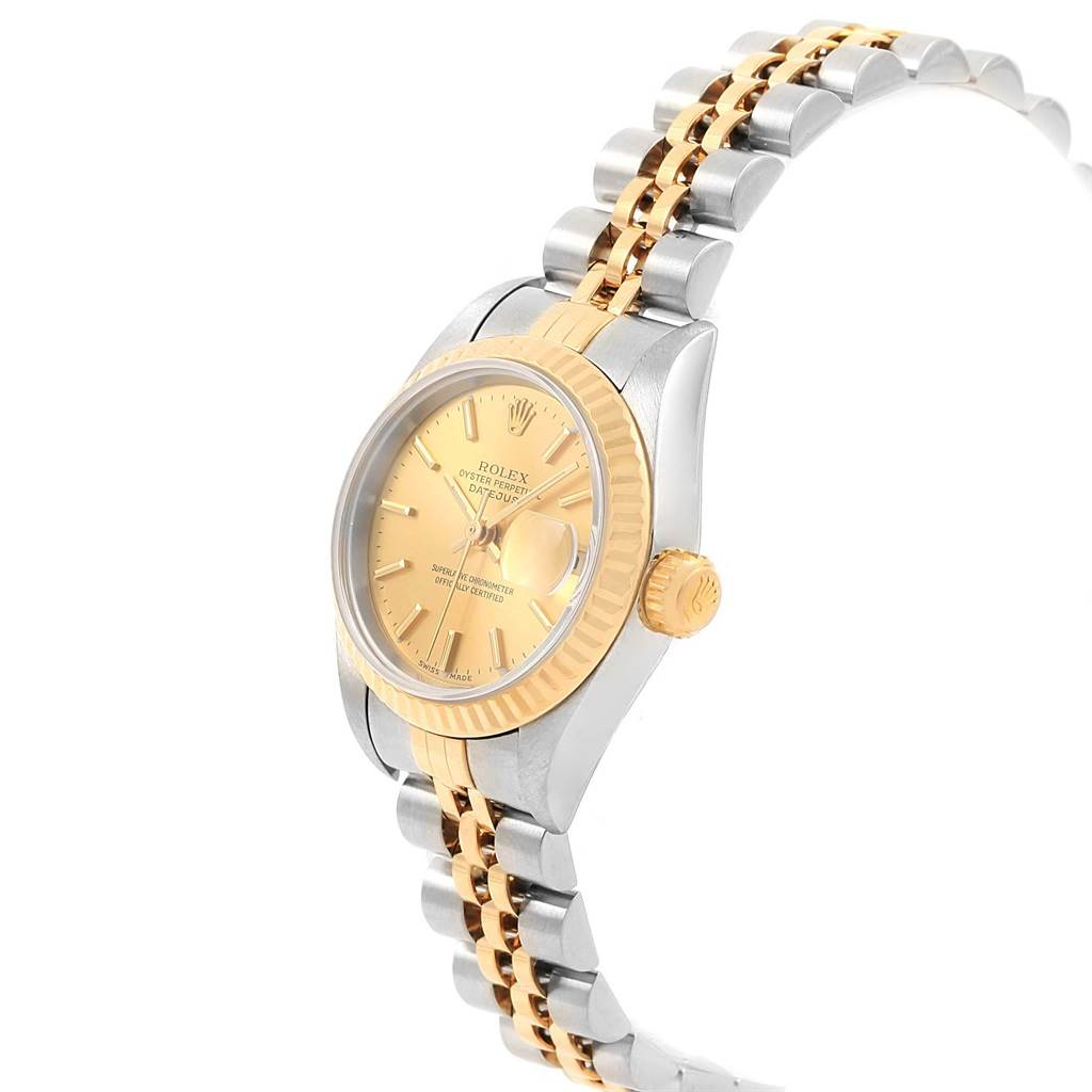 16438 Rolex Datejust 26 Steel Yellow Gold Jubilee Bracelet Ladies Watch 79173 SwissWatchExpo