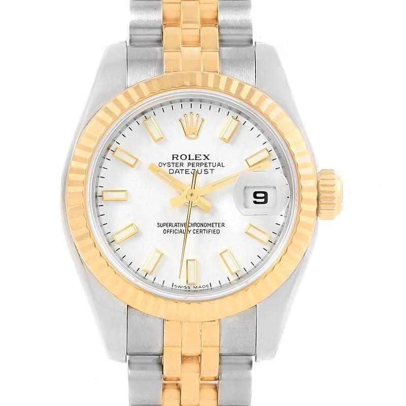 Rolex Datejust 26 Steel Yellow Gold Ladies Watch 179173 Box Card SwissWatchExpo