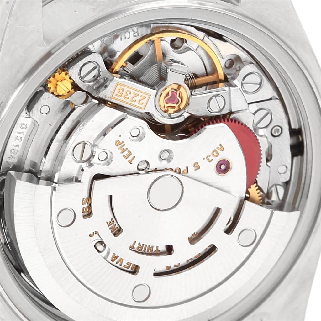 Rolex Datejust 26 Blue Sodalite Diamond Steel Ladies Watch 79174 SwissWatchExpo